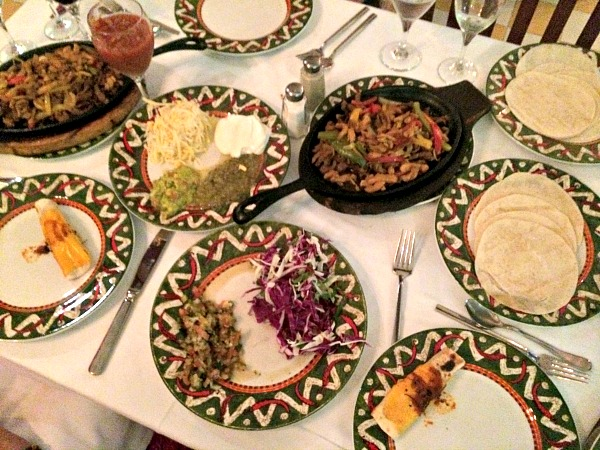 Majestic Colonial Resort Fajitas