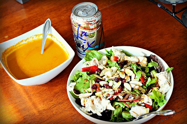 lunch and soup