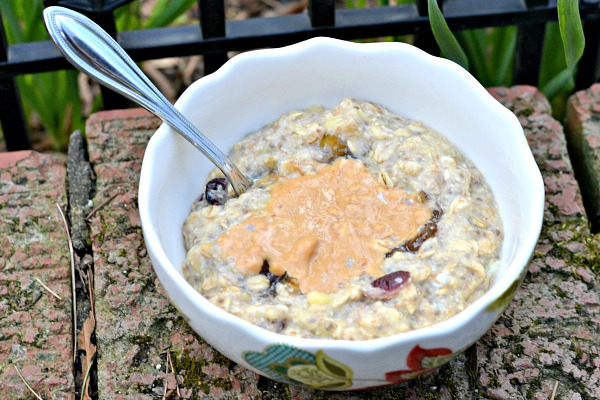 Banana Egg White Oatmeal2