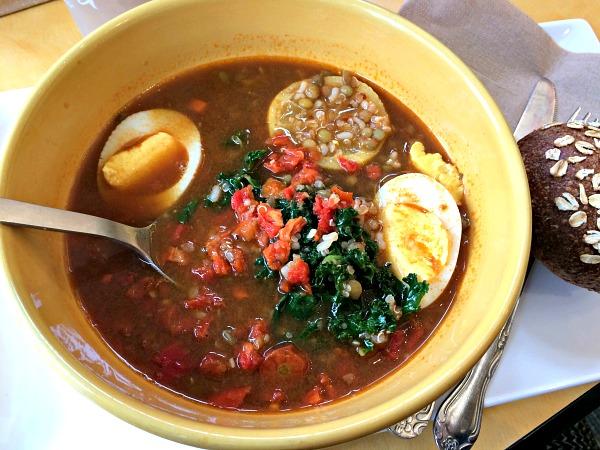 Panera Lentil Quinoa Bowl