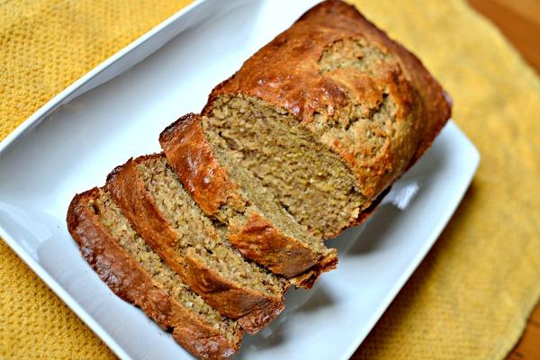 Peanut Butter Coconut Banana Bread