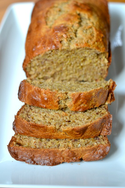 Peanut Butter & Coconut Banana Bread