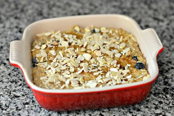 Quinoa Bake Ready for Oven