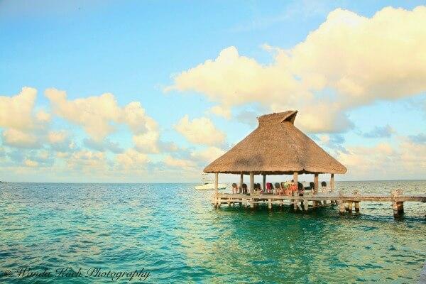 yoga retreat dock