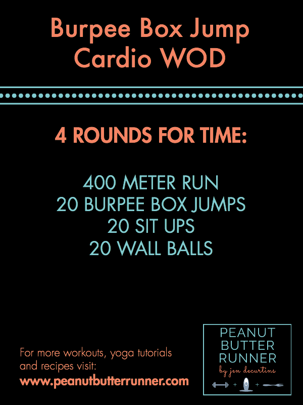 PBR Burpee Box Jump Workout