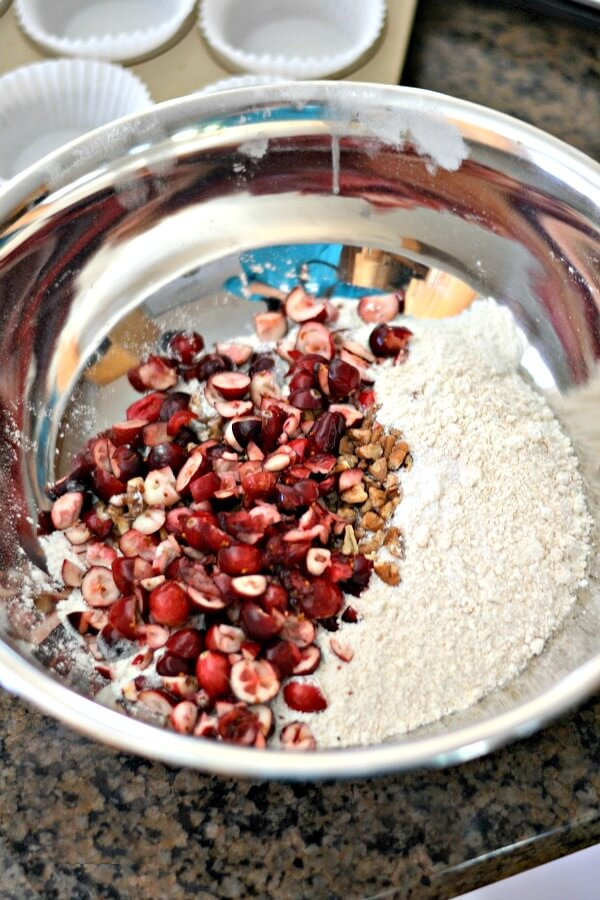 Cranberry Orange Muffin Ingredients
