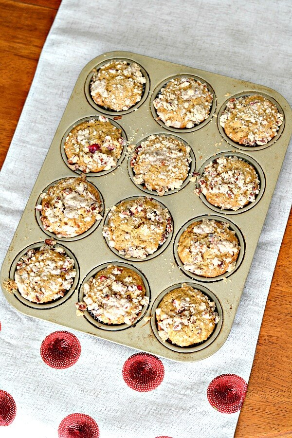 Cranberry Orange Muffins 2