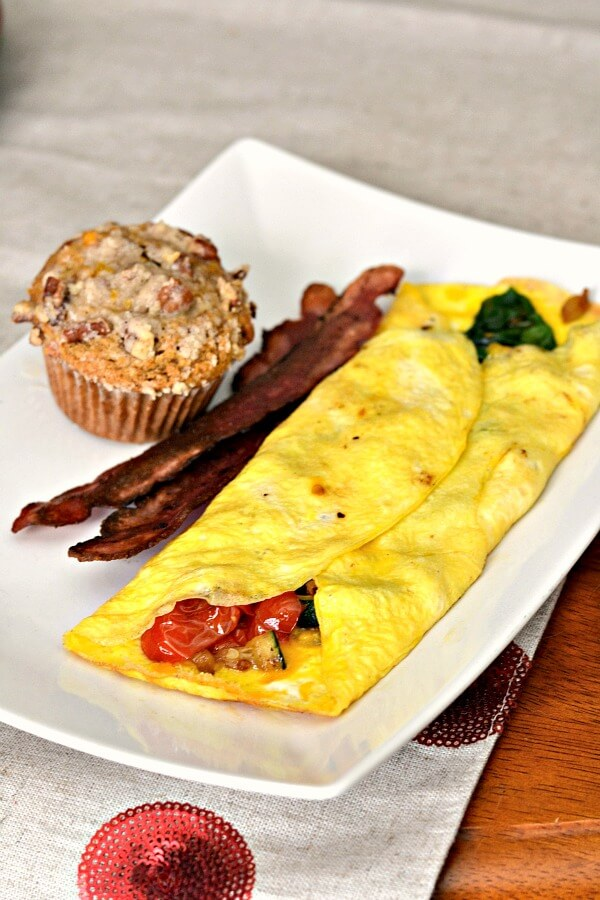 Omelet and Muffin
