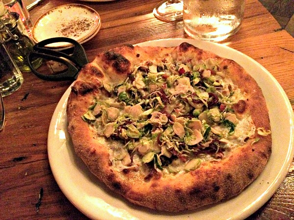 stagioni brussels sprouts pizza