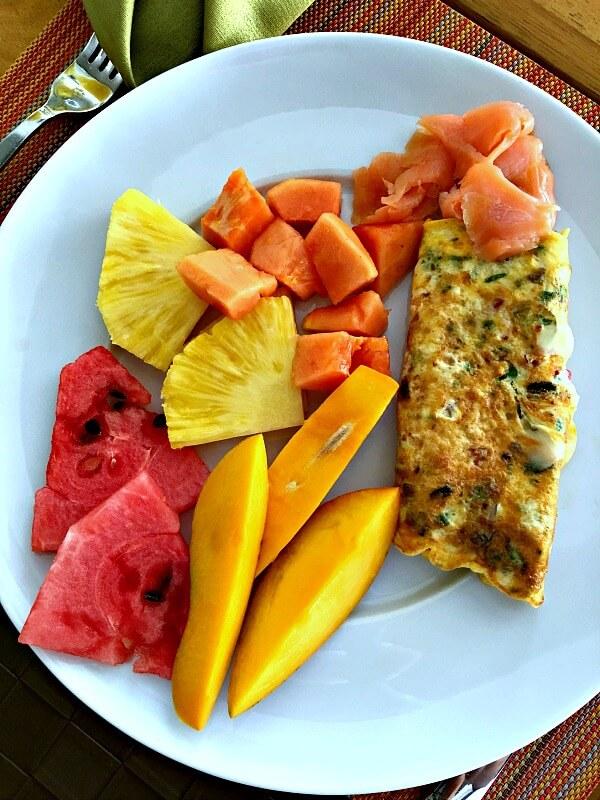 omeletandfruit