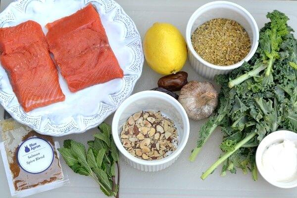 Blue Apron Salmon Recipe Ingredients