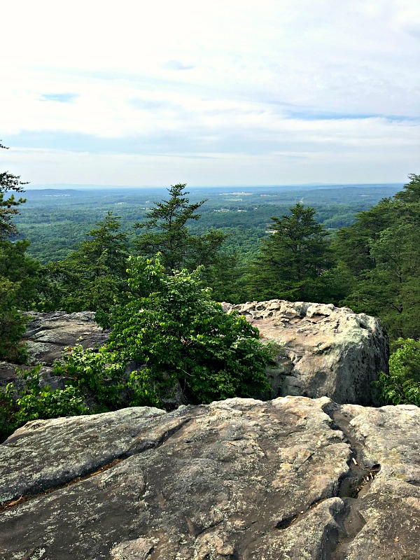 View at Crowders Mountain