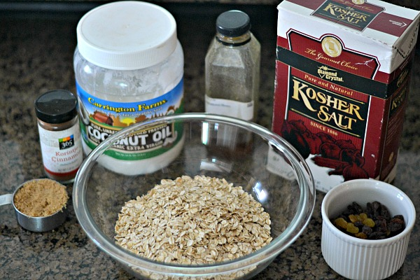 Basic Granola Ingredients