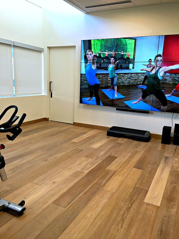 Charlotte Marriott City Center Fitness Studio