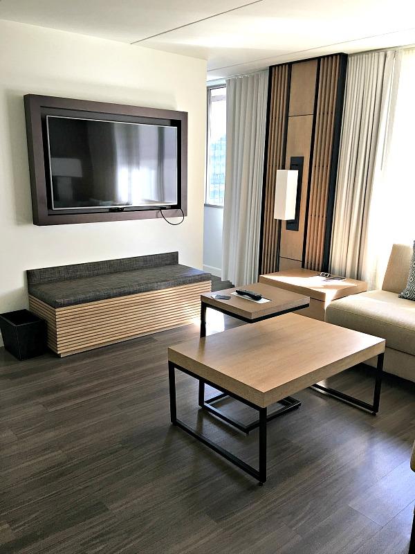 Charlotte Marriott City Center Guest Room