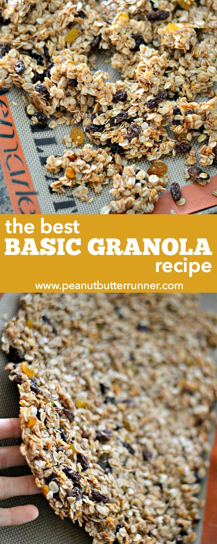 The Best Basic Granola Recipe