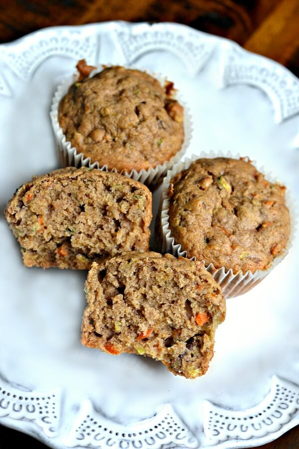 Spiced Zucchini Carrot And Banana Bread
