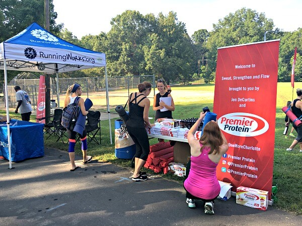 Premier Protein Sweat Strengthen and Flow Event
