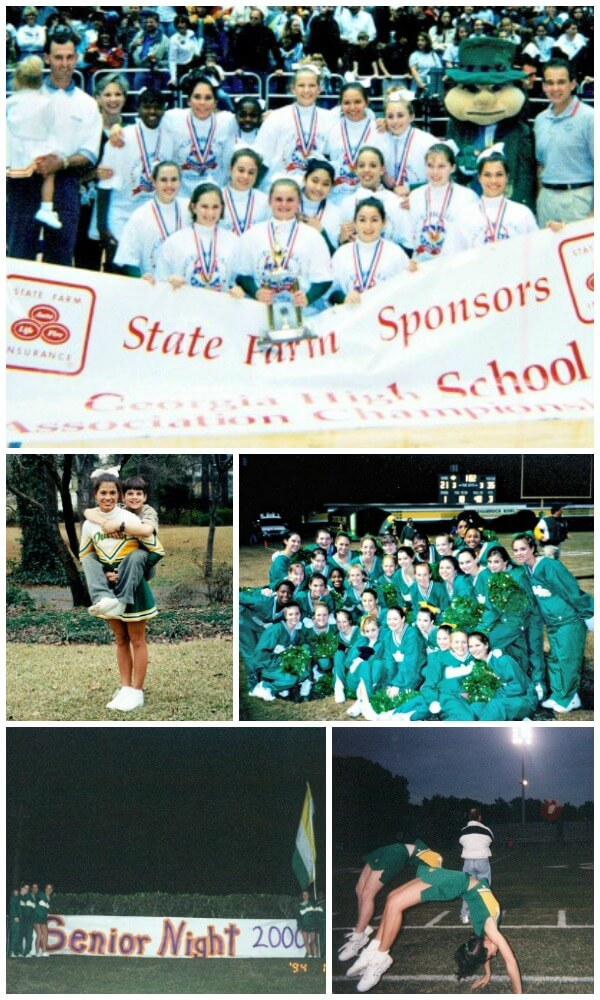 Cheerleading Memories