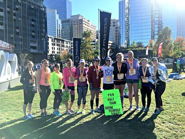 Peanut Butter Runner Half Marathon Training