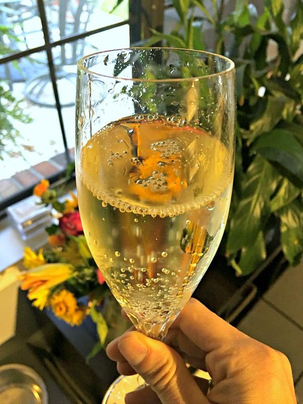 Thanksgiving Champagne