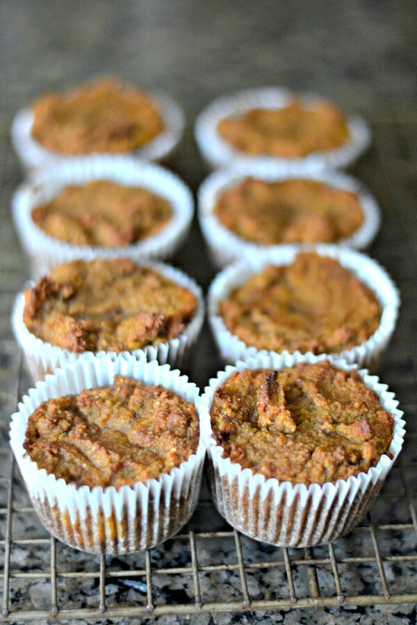 Gluten-Free and Paleo Pumpkin Banana Muffins