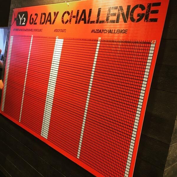 62 Day Yoga Challenge