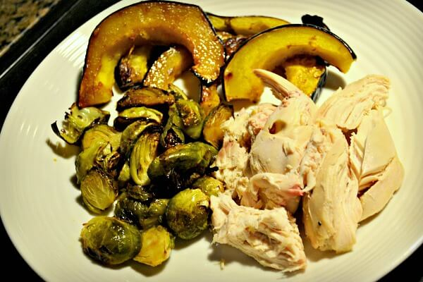 Rotisserie Chicken and Veggies