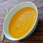 Carrot Apple Butternut Ginger Soup