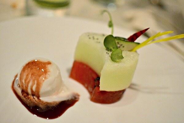 zoetry paraiso de la bonita watermelon salad