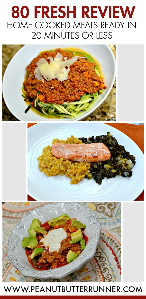 80fresh Review Home Cooked Meals In 20 Minutes Or Less