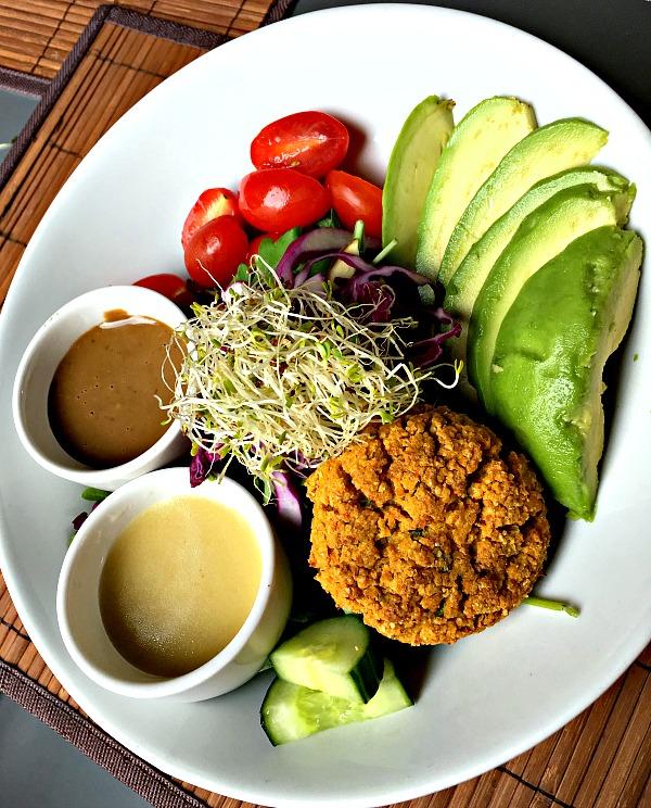 namastay kitchen vegan salad