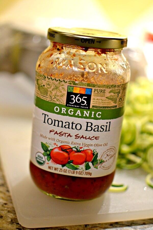 whole foods pasta sauce