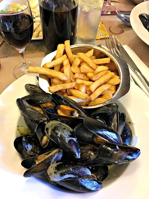 moule frites in brussels