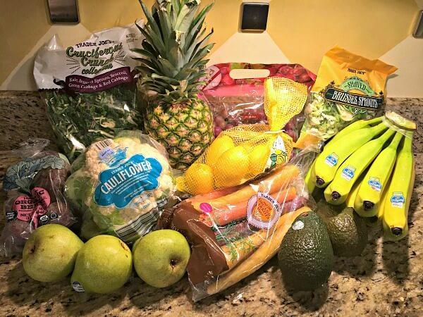 Trader Joe's produce