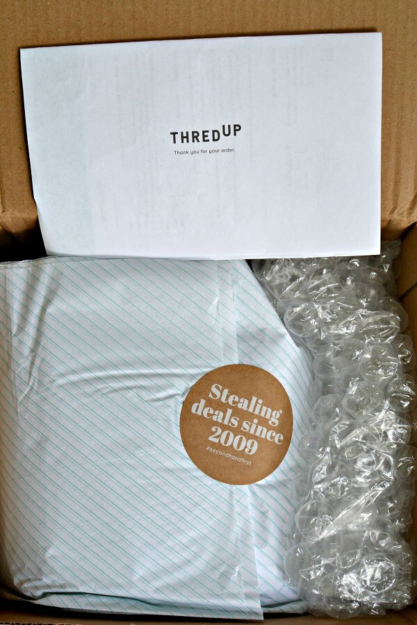 thredUP packaging
