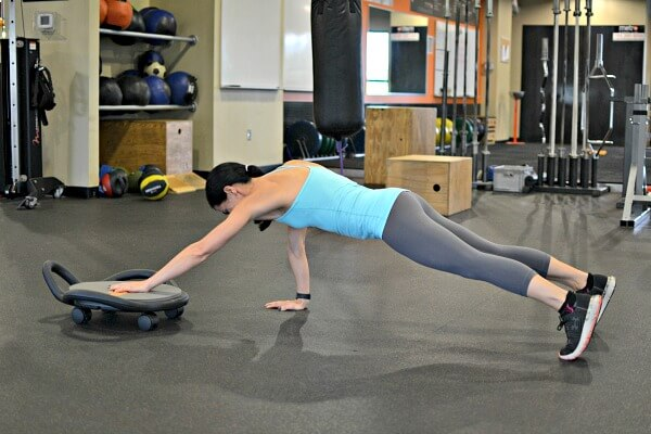 AbDolly Plank push and pull
