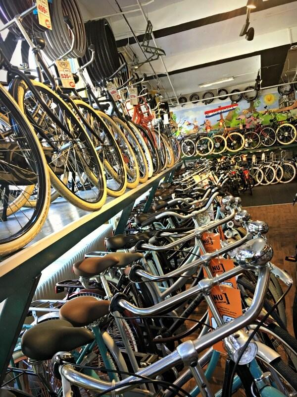 amsterdam bike shop