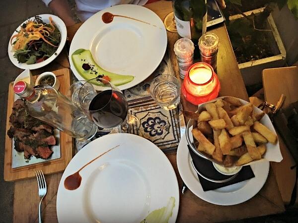 Brasserie SenT Dinner