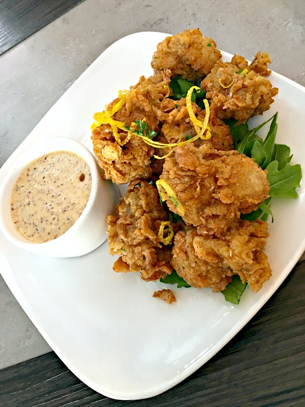 Namastay Kitchen Fried Oysters