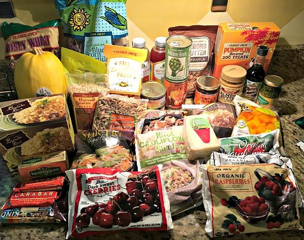 trader joe's fall shopping