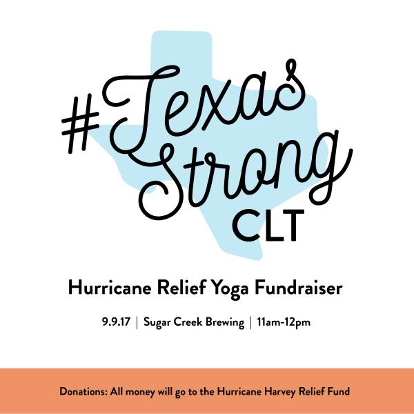 Hurricane Harvey Yoga Fundraiser