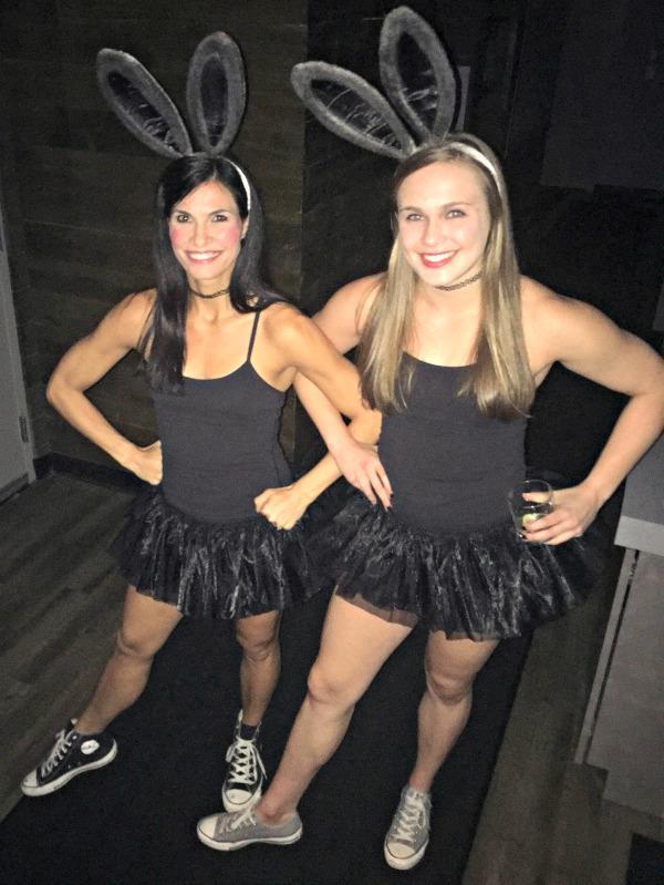 twin dancing emoji costume