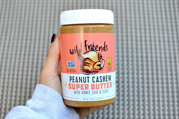 wild friends peanut cashew butter
