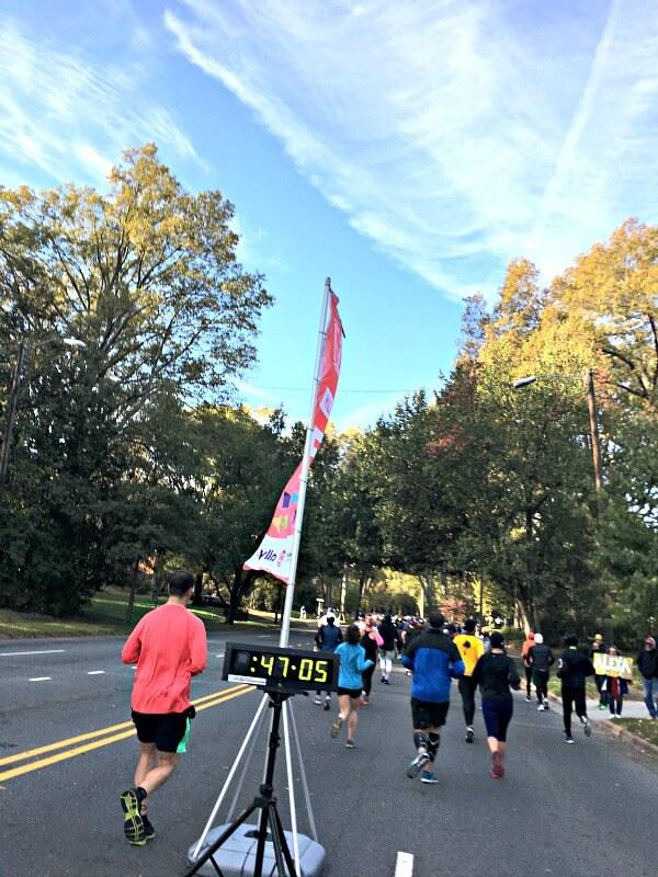 Charlotte Half Marathon Mile 5