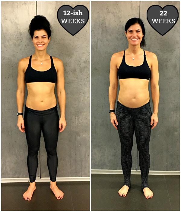 21 weeks pregnant body
