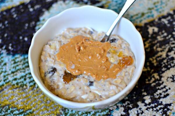 banana cottage cheese oatmeal