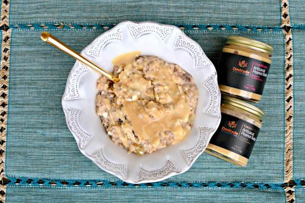 peanut butter and oatmeal