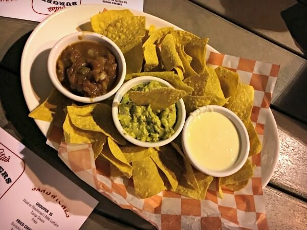 Rita's chips and dip