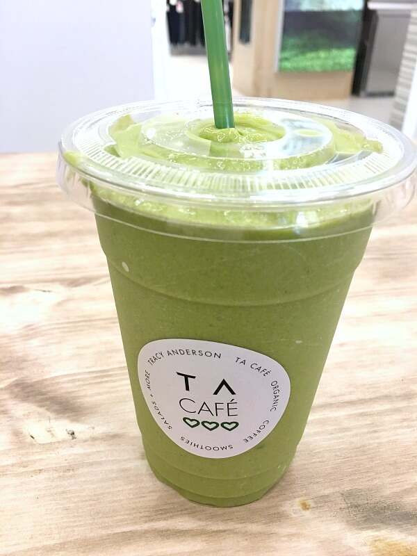 tracy anderson cafe smoothie